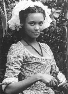 "Sarah ""Sally"" Hemings was a mixed race slave owned by Thomas Jefferson.."