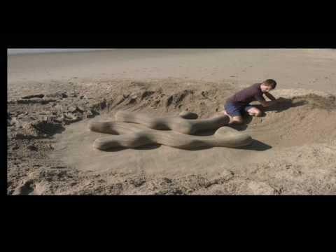Stop Motion Sand Sculpture