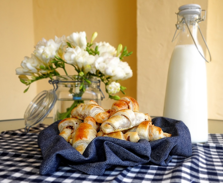 Peanutbutter & Chocolat Croissant