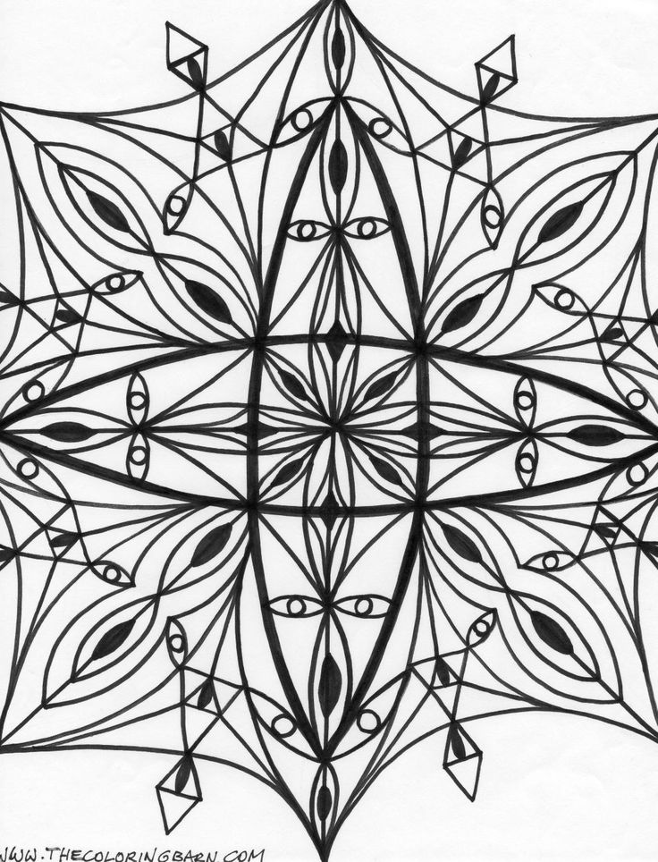 kaleidoscope activity coloring pages - photo#20