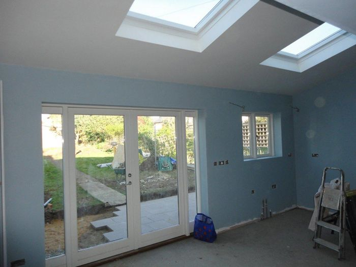 Removal of conservatory and new single storey extension by Tony Browne and Sons, General Builders in Whitstable Kent