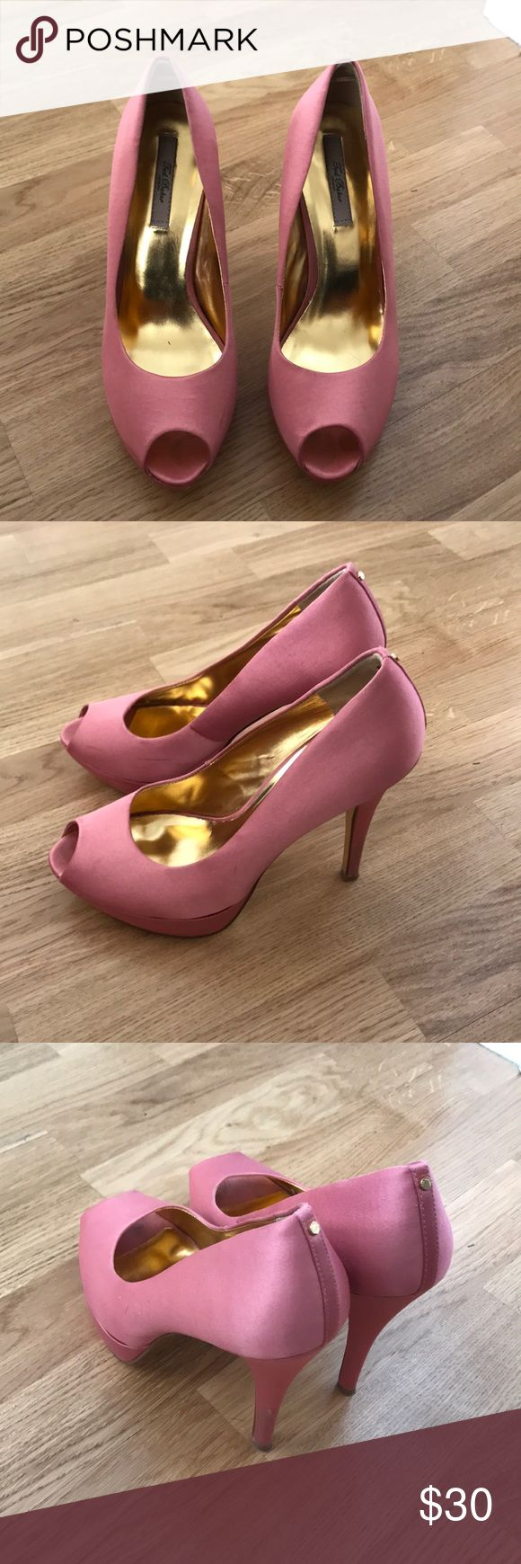 Ted Baker like newcute pink shoes size US 8, EU 39 Ted Baker like new super cute pink shoes size US 8, EU 39 Ted Baker Shoes Heels