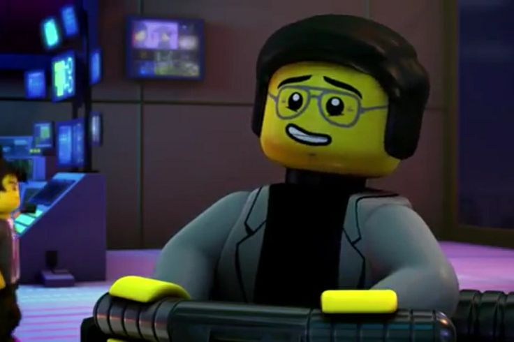 cyrus borg also known as the over borg ninjago rebooted