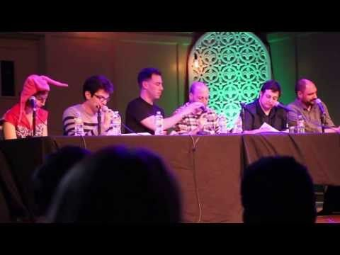 The cast of Bob's Burgers perform a live read from an upcoming Thanksgiving episode.