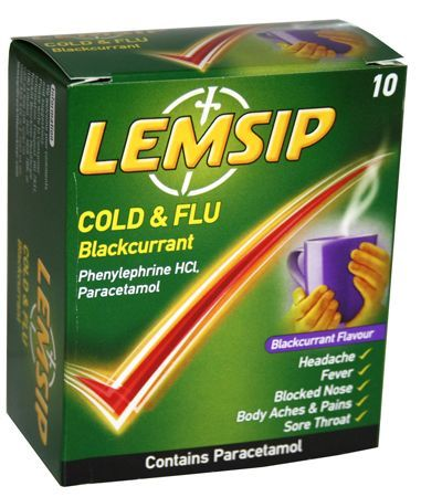 Lemsip Cold   Flu Blackcurrant (10) Lemsip Cold   Flu Blackcurrant (10): Express Chemist offer fast delivery and friendly, reliable service. Buy Lemsip Cold   Flu Blackcurrant (10) online from Express Chemist today! (Barcode EAN=5000158 http://www.MightGet.com/january-2017-11/lemsip-cold- -flu-blackcurrant-10-.asp