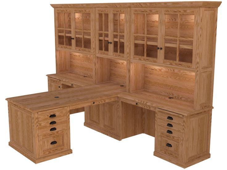 Partner Desk Home Office Furniture, Woodley Furniture Longmont Co - ImagesEditor…