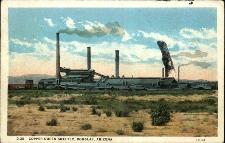 Douglas, Arizona | Copper Queen Smelter, Douglas, Arizona