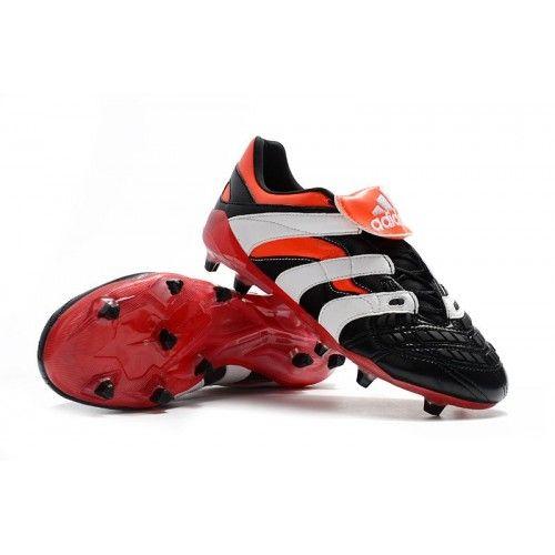 buy popular 7a742 c9635 Cheap Football Boots, Superfly, Adidas Predator, Black White Red, Predator  Football Boots