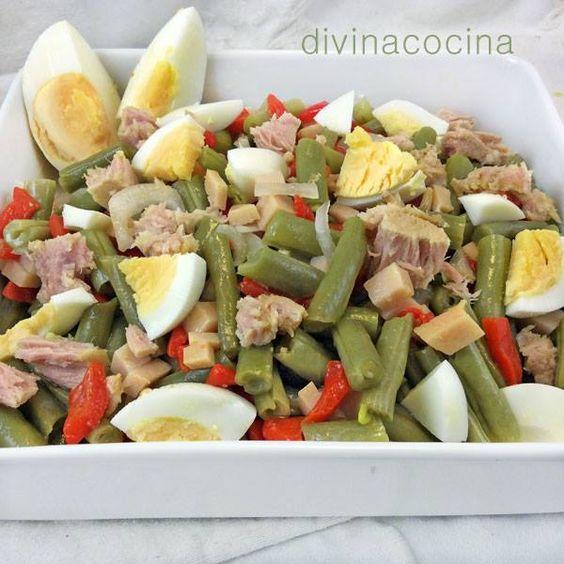 Ensalada de judías verdes < Divina Cocina