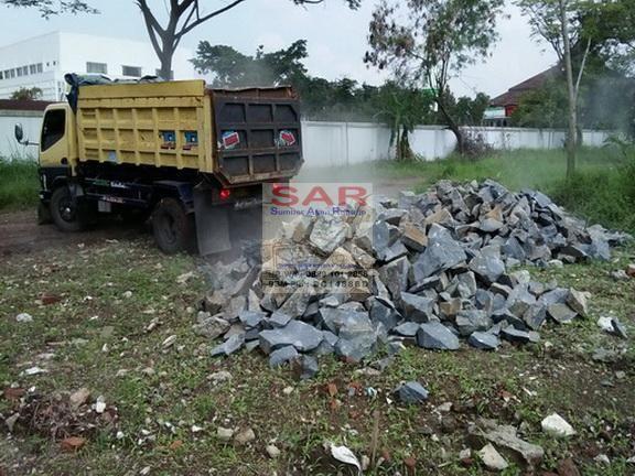 #Alokasi Pengiriman BATU BELAH / BATU PONDASI @Salak-Bandung Info: ✆/WA: 0889 101 2858   BBM Pin: DC1468BD