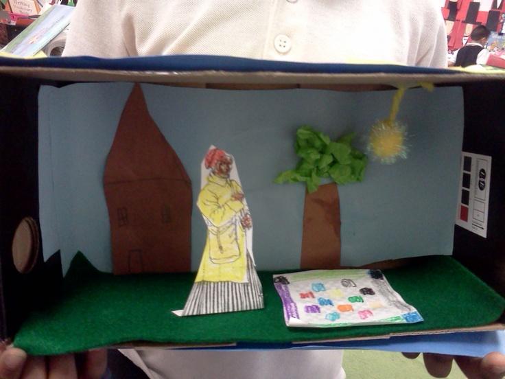 Harriet Tubman diorama