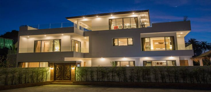 Splendid 6 bedroom Villa for rent within walking distance to Ban Tai Beach   Koh Samui Real Estate - Luxury Property for Sale & Rent