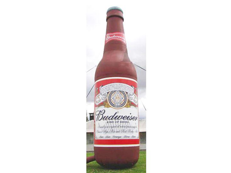 Inflable Botella De Cerveza Budweiser -venta De Publicidad Inflable - Comprar Barato Precio De Inflable Botella De Cerveza Budweiser - Fabrica Publicidad Inflable En Estados Unidos