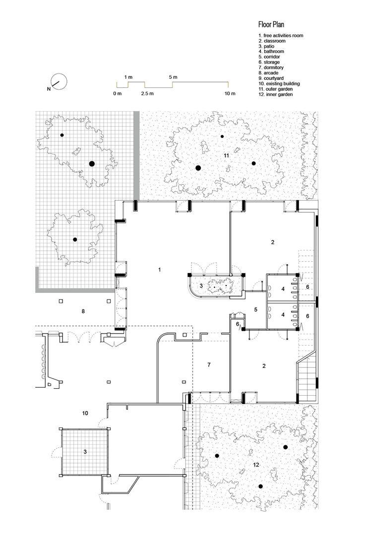 The Covered Garden,Floor Plan