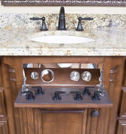 1000 Images About Vanity Valet Hair Appliance Bathroom
