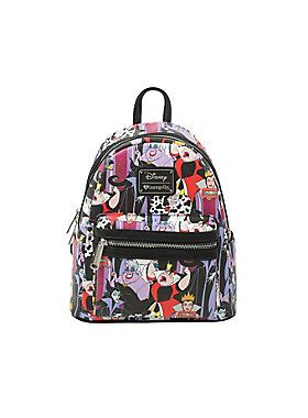 WICKED BACKPACK    Loungefly Disney Villains Mini Faux Leather Backpack    Once Upon a Time...   Backpacks, Faux leather backpack, Disney 5306b0c51bc