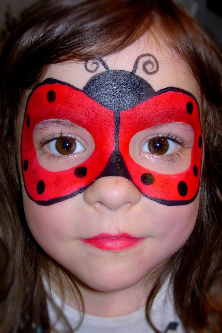 Resultado de imagem para pinturas faciais lady bug