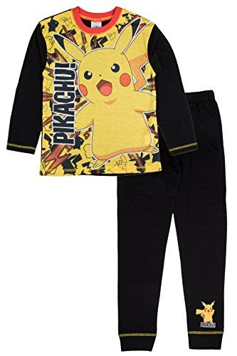 buy now   									£4.33 									  									OFFICIAL POKEMON FULL LENGTH PYJAMAS A great pyjama set for your child at a great price for you. These official new POKEMON sets are cotton blend and  ...Read More