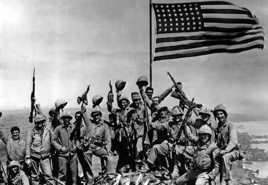 Amérique en guerre - Bataille Iwo-Jima