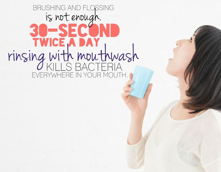 Brushing and flossing is not enough. 30 second twice a day rinsing with mouthwash kills bacteria everywhere in your mouth. Learn more about Canberra Dental Crowns.
