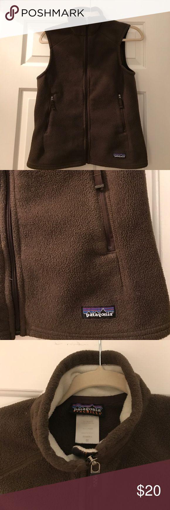 Patagonia Fleece Vest size M Gently worn. Fleece Vest. Brown. Patagonia Tops Sweatshirts & Hoodies