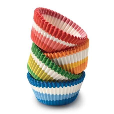 Swirl Baking Cups - Assorted