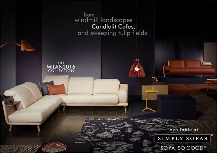 SOFA STORIES From Leolux, for The Milan 2016 collection. #SimplySofas #Milan2016 Visit: http://simplysofas.in/product?product_id=309