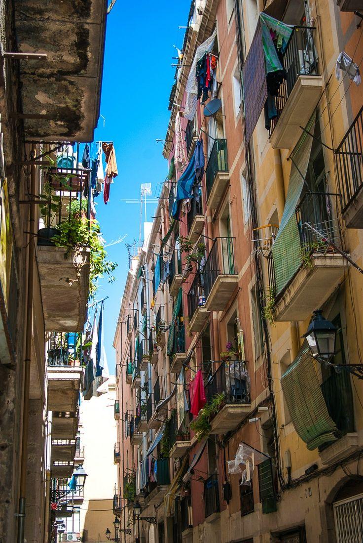 Street of Barcelone, Spain