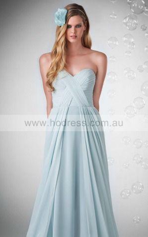Chiffon Sweetheart Empire A-line Floor-length Bridesmaid Dresses 0740155--Hodress