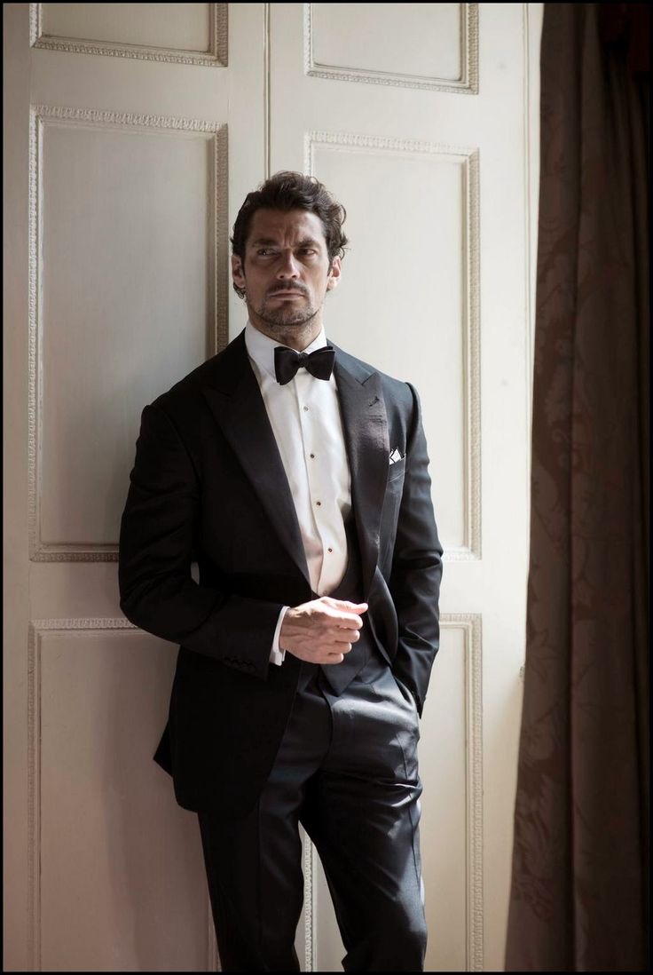 David Gandy per Henry Poole A / W 2014 ~ David James Gandy