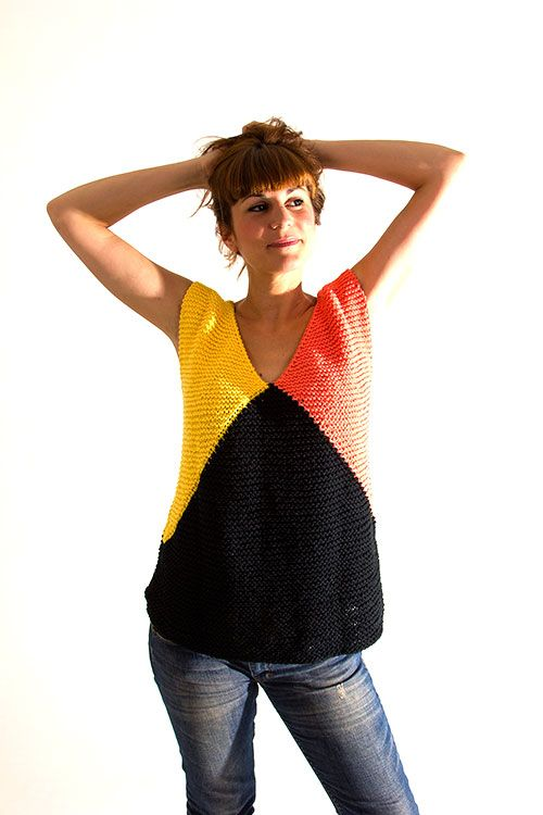 Designed  Hand Knitted in Spain.