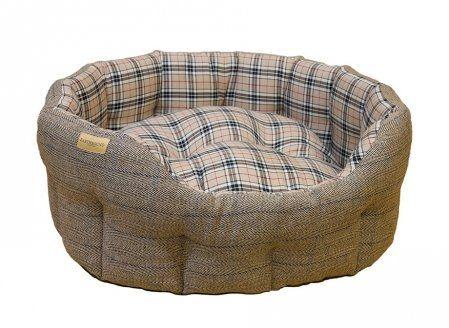 Luxury Tweed Amp Tartan Snuggle Bed Vovve Snuggles Bed