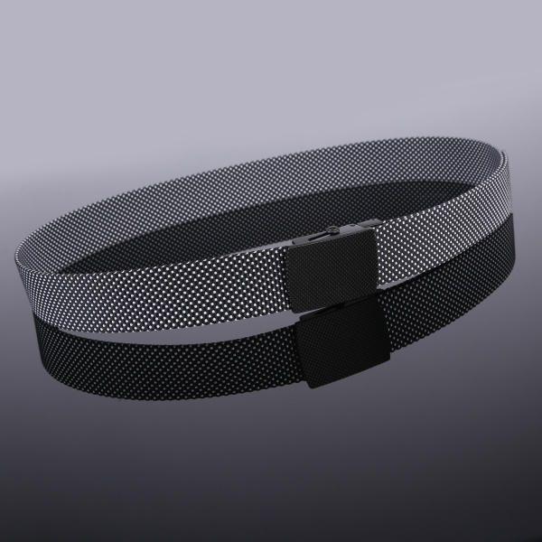 130CM Mens Casual Nylon Dots Smooth Buckle Waist Outdoor Durable Military Tactical Belt at Banggood