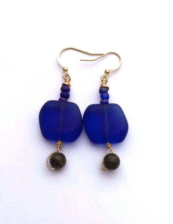Now trending: Ocean Colors Beach Earrings, Navy Blue Sea Glass, Wire Wrapped Jewelry Unique Earrings, https://www.etsy.com/listing/385725184/ocean-colors-beach-earrings-navy-blue?utm_campaign=crowdfire&utm_content=crowdfire&utm_medium=social&utm_source=pinterest