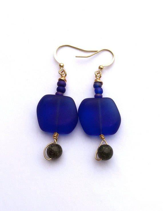 Ocean Colors Beach Earrings https://www.etsy.com/listing/385725184/ocean-colors-beach-earrings-navy-blue?utm_campaign=crowdfire&utm_content=crowdfire&utm_medium=social&utm_source=pinterest