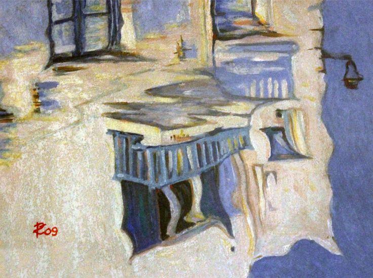Riflesso greco - Affresco realizzato da www.robertozedda.it