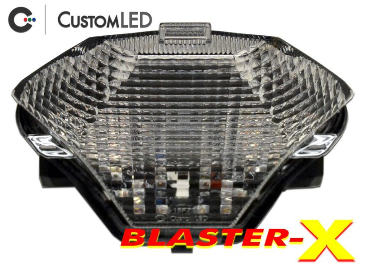 Yamaha FZ-07 Blaster-X Integrated LED Tail Light CAD Model for years 2015-2016 by Custom LED