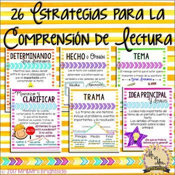 Reading Comprehension Strategies and Skills in Spanish / Estrategias para la comprensión de lectura