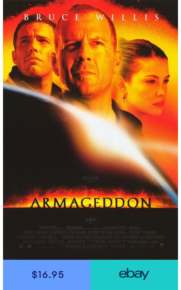 Armageddon Movie Poster Licensed New Usa 27x40 Theater Size