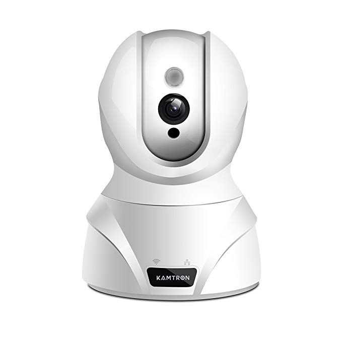 Wireless Security Camera,KAMTRON HD WiFi Security