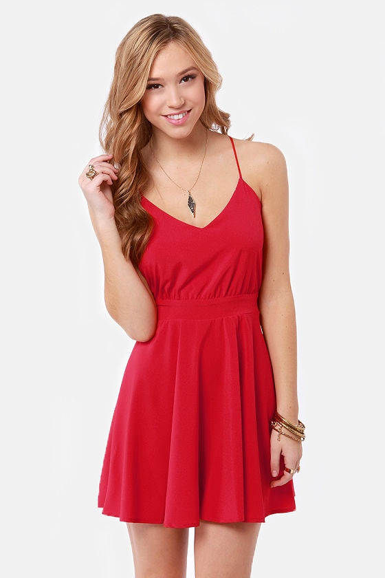 There's something about a girl, in a red sundress...