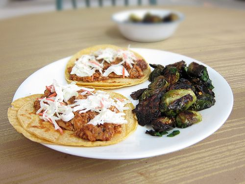 BBQ Carnitas Tacos From White Duck Taco Shop Recipes — Dishmaps