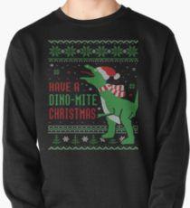 Ugly Christmas Sweater Dinosaur Dino Mite Christmas