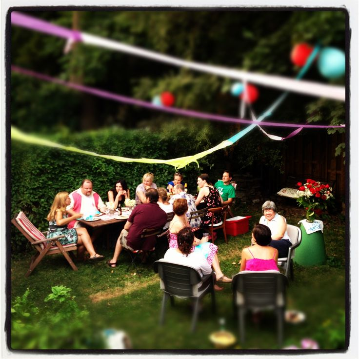 108 Best Backyard Party Images On Pinterest