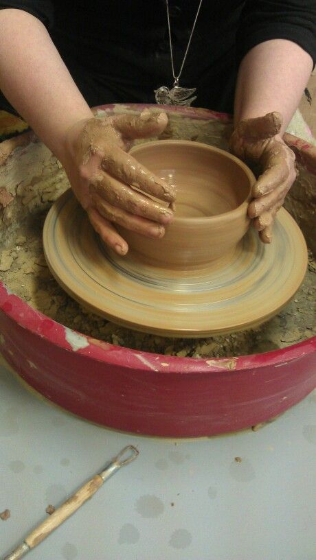 Pottery ,clay,bowel.