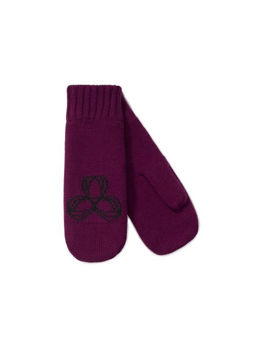 TNA Elements Mitten, now available at Aritzia.com. #burgundy