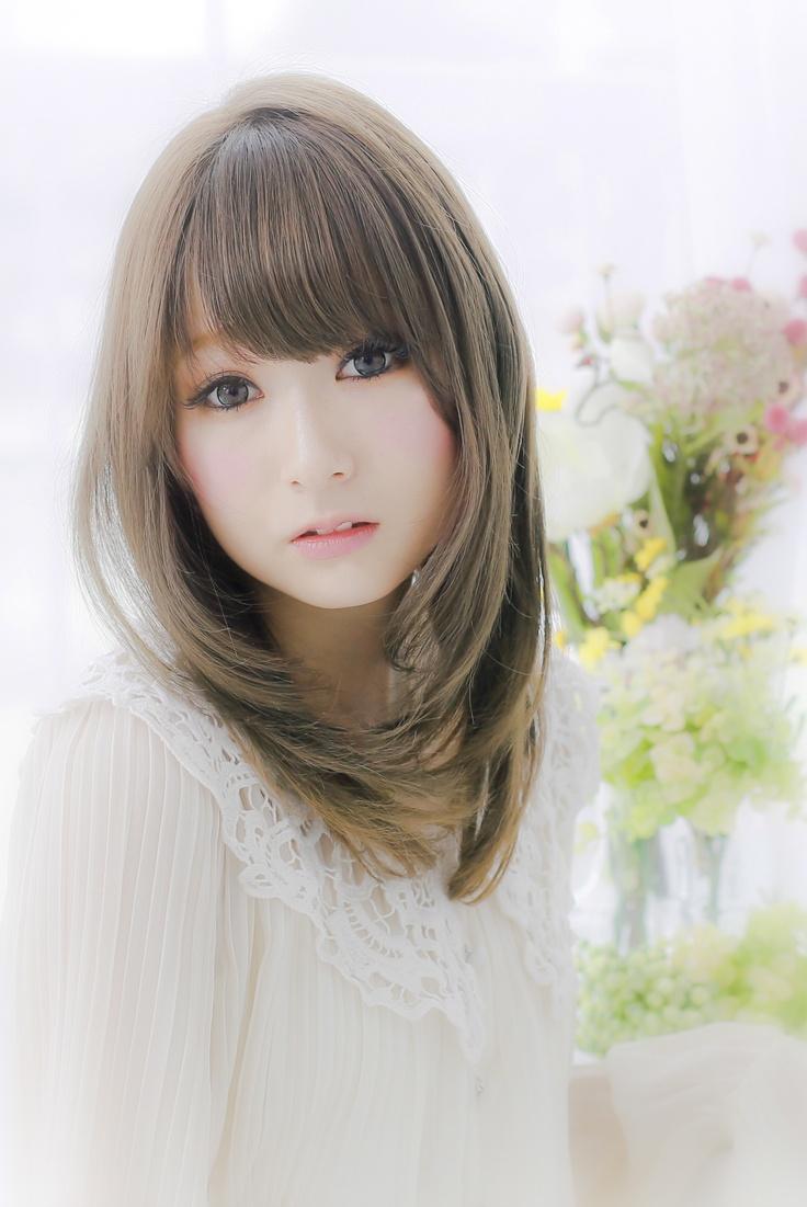 Cortes de cabello largo japoneses