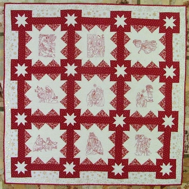 21 best Redwork quilts images on Pinterest | Embroidery, Artists ... : hand embroidery quilt patterns - Adamdwight.com