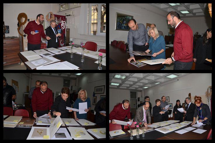 """Hraç Arslanyan Ustamız ''Marmara Üniversitesi Takı Teknolojisi ve Tasarımı Yüksekokulu ile 4C Mühendislik tarafından düzenlenen """"Mücevher Takı Tasarım Yarışması""""na jüri üyesi olarak katıldı. www.mahrecsanatevi.com"""