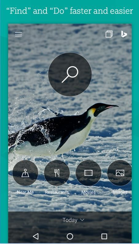 Microsoft Bing For Android Updated to Version 6.0 http://www.gadgetdetail.com/microsoft-bing-for-android-updated-to-version-6-0/